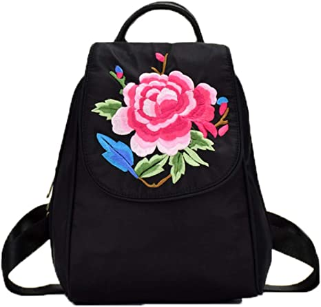 Bolso De Bordado De Flores Estilo Chino New Oxford Spinning ...