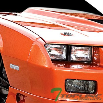 Topline Autopart Depo Crystal Clear Lens Bumper Side Marker Reflector Light For 85-92 Camaro/Firebird ()