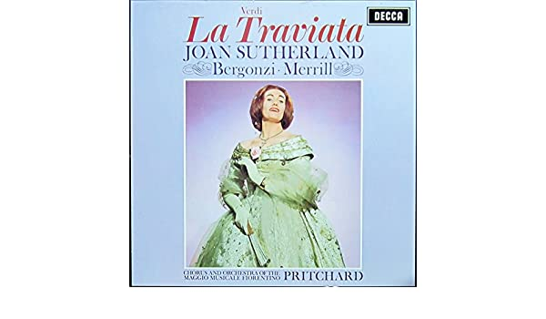 Verdi: La Traviata (Teatro della Pergola, Florence, 1962) (Gesamtaufnahme in italienischer Sprache) [Vinyl Schallplatte] [3 LP Box-Set]: Giuseppe Verdi, John Pritchard, Chor und Orchester des Maggio Musicale Fiorentino, John Pritchard & Chor