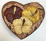 Wooden Hawaiian Hibiscus Puzzle Jewelry Box Design