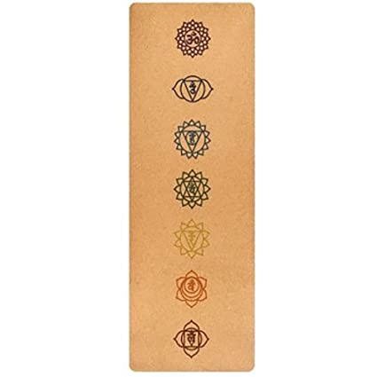 Amazon.com: ZLJF Cork Yoga Mat for Sport Environmental ...