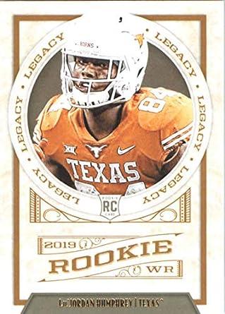 cfa4dd129b175 Amazon.com: 2019 NFL Legacy #183 Lil'Jordan Humphrey Texas Longhorns ...
