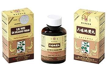 Solstice Liu Wei Di Huang Wan Herbal Supplement (200 Pills)