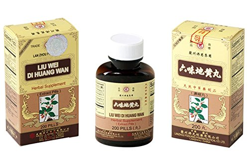 Solstice Liu Wei Di Huang Wan Herbal Supplement (200 Pills)