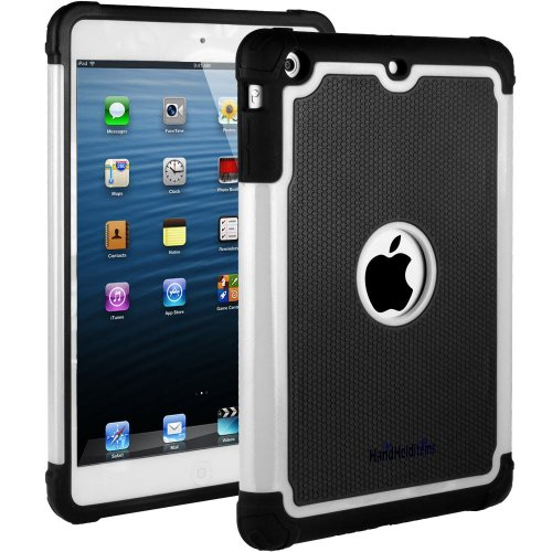 HHI Aero Armor Case for iPad Mini 3, iPad Mini Retina Display and iPad Mini - White (Package include a HandHelditems Sketch Stylus (Hhi Armor Case)