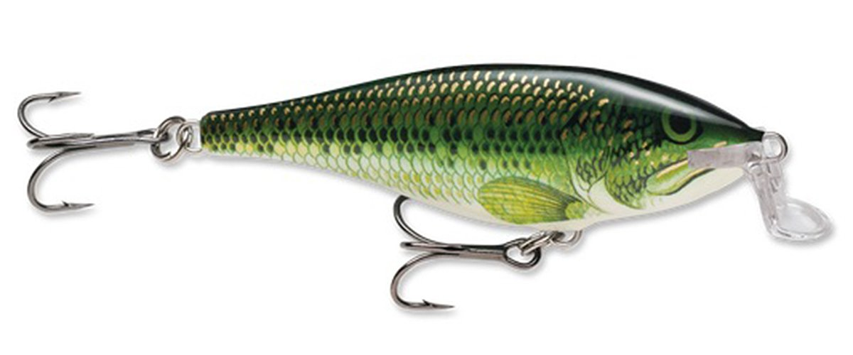 Rapala Shallow Shad Rap 09 Fishing Lure Baby Bass 3.5-Inch