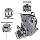 mommore Waterproof Diaper Bag Backpack Large