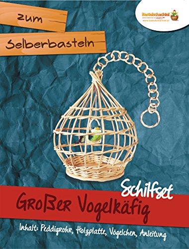 Schilfset Schilf Set Rattan Korbflechten Gro/ßer Vogelk/äfig Flechtmaterial Flechten Peddigrohr Flechtset