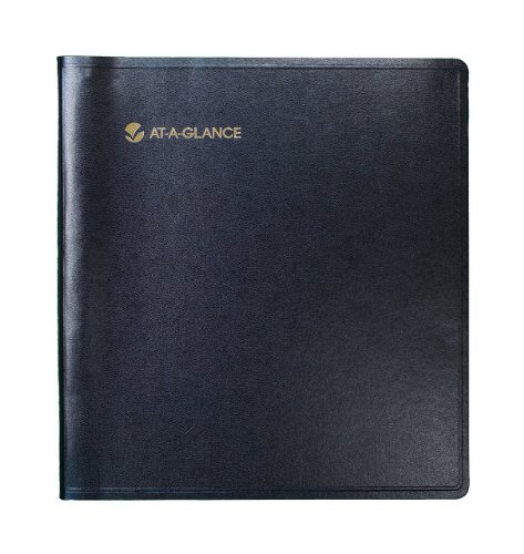 (AT-A-GLANCE Three-Year Monthly Planner, 9 x 11 Inches, Black, 2011 (70-236-05))