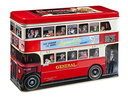 Walkers Shortbread Scottish Biscuit Selection, 15.8-Ounce London Bus Tin by Walkers Shortbread