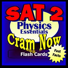 SAT II Prep Test PHYSICS Flash Cards--CRAM NOW!--SAT 2 Exam Review Book & Study Guide (SAT II Cram Now! 3)