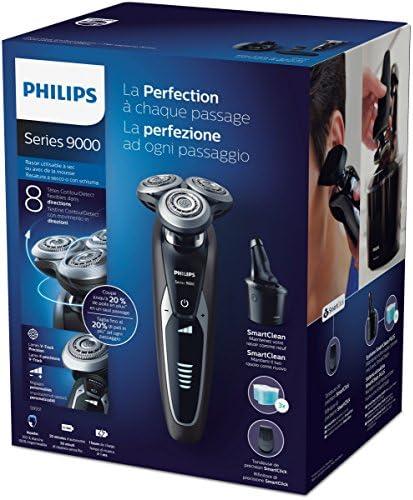 Philips S9551/63 - Afeitadora electrica, uso en seco y humedo ...