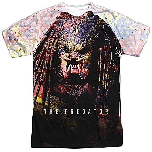 The Predator 2018 Splatter Unisex Adult Sublimated T Shirt