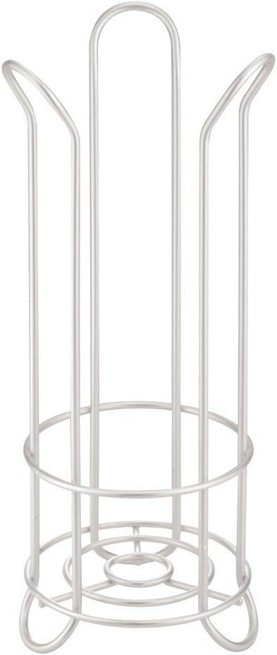 Nero InterDesign Classico Portariviste a Parete Metallo 26.75x11.5x23 cm