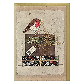 Artistic Christmas Cards Ba0212 Robin S Gifts Pack Of 5 Cards