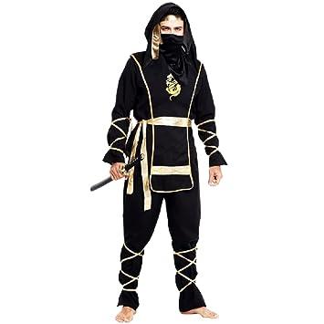 Traje de Carnaval edad Hombres Ninja: Amazon.es: Juguetes y ...