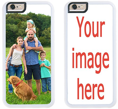 Custom Phone Cases Apple iPhone SE, iZERCASE [PERSONALIZED CUSTOM PICTURE CASE] [Perfect Fit] Make Your Own iPhone Case (Cartoon Charachters)