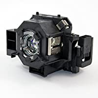 ePharos ELPLP42 / V13H010L42 replacement projector lamp compatible bulb with generic housing for Epson EB-140W; EMP-280; EMP-400; EMP-400W; EMP-400WE; EMP-410W; EMP-822 EMP-822H; EMP-83; EMP-83C; EMP83H; EMP-83HE
