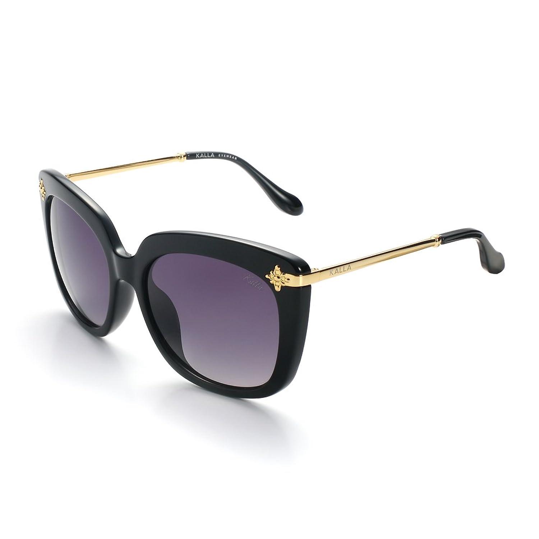 KALLA Women's Oversized Polarized Sunglasses, 100% UV protection
