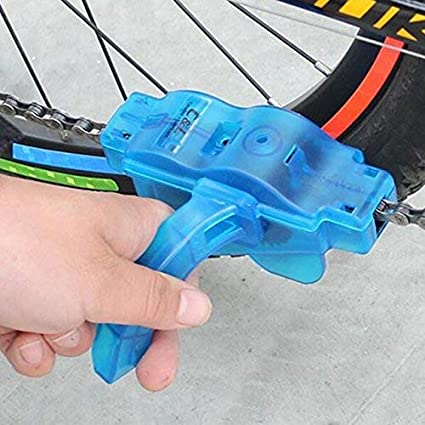 Portable Cleaner Bicycle Chain Cycling Scrubber Brushes Useful Washing Wash Bike