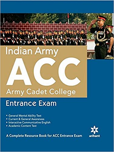 Indian army acc entrance exam amazon arihant experts books fandeluxe Image collections