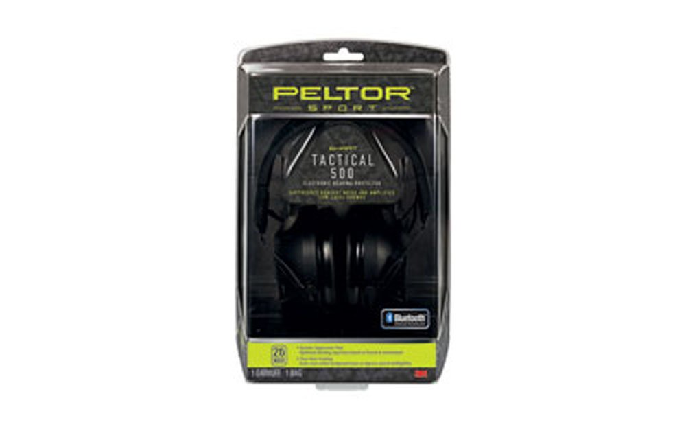 3M/Peltor Sport Tactical Earmuff Black NRR 26 500 Digital