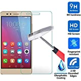 Huawei Honor 5X Screen Protector, IVSO Ultra-thin 9H Hardness Highest Quality HD clear& Premium Tempered Glass Screen Protector for Huawei Honor 5X phone(2pcs)-Lifetime Warranty