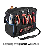Cases By Source TUC-11603 Technicians Backpack with Inside/Outside Tool Pallets and Shoulder Strap
