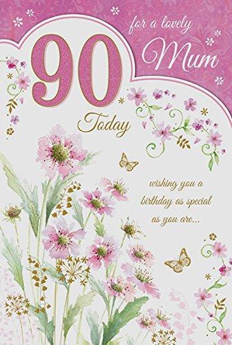 Special Days Tarjeta de felicitación de 90 cumpleaños para ...