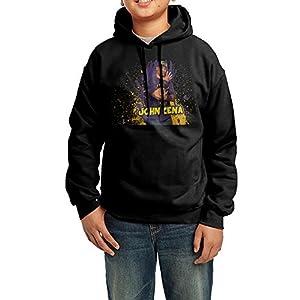 LULU John Cena Men's Custom Long Sleeve Hoodie XL Black