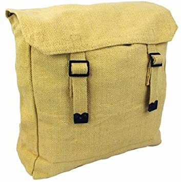 Mens Army Combat Military Haversack Rucksack Travel Day Bag Pack Canvas Backpack by Zip Zap Zooom: Amazon.es: Deportes y aire libre