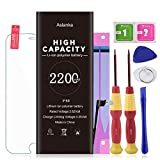 Aslanka Battery for iPhone 6s, New 2200mAh High Capacity Battery Replacement with Repair Tools, Included Installation Manual and Screen Protector-(2-Year Warranty)