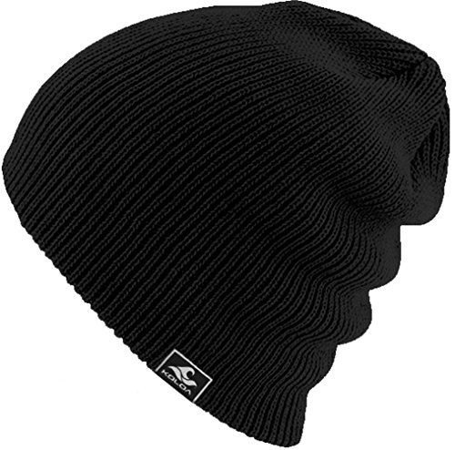 Koloa Surf Co. Original Soft & Cozy Beanies - Black ()