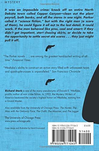The Score Parker Richard Stark John Banville 9780226771045