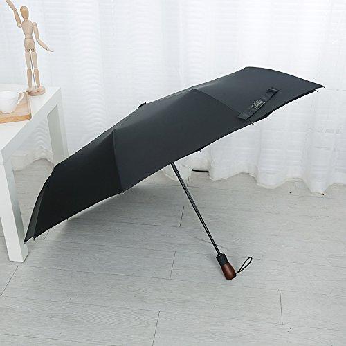 スタウト折りたたみ傘を増やすための全自動傘  ブラック B078V5YBSK