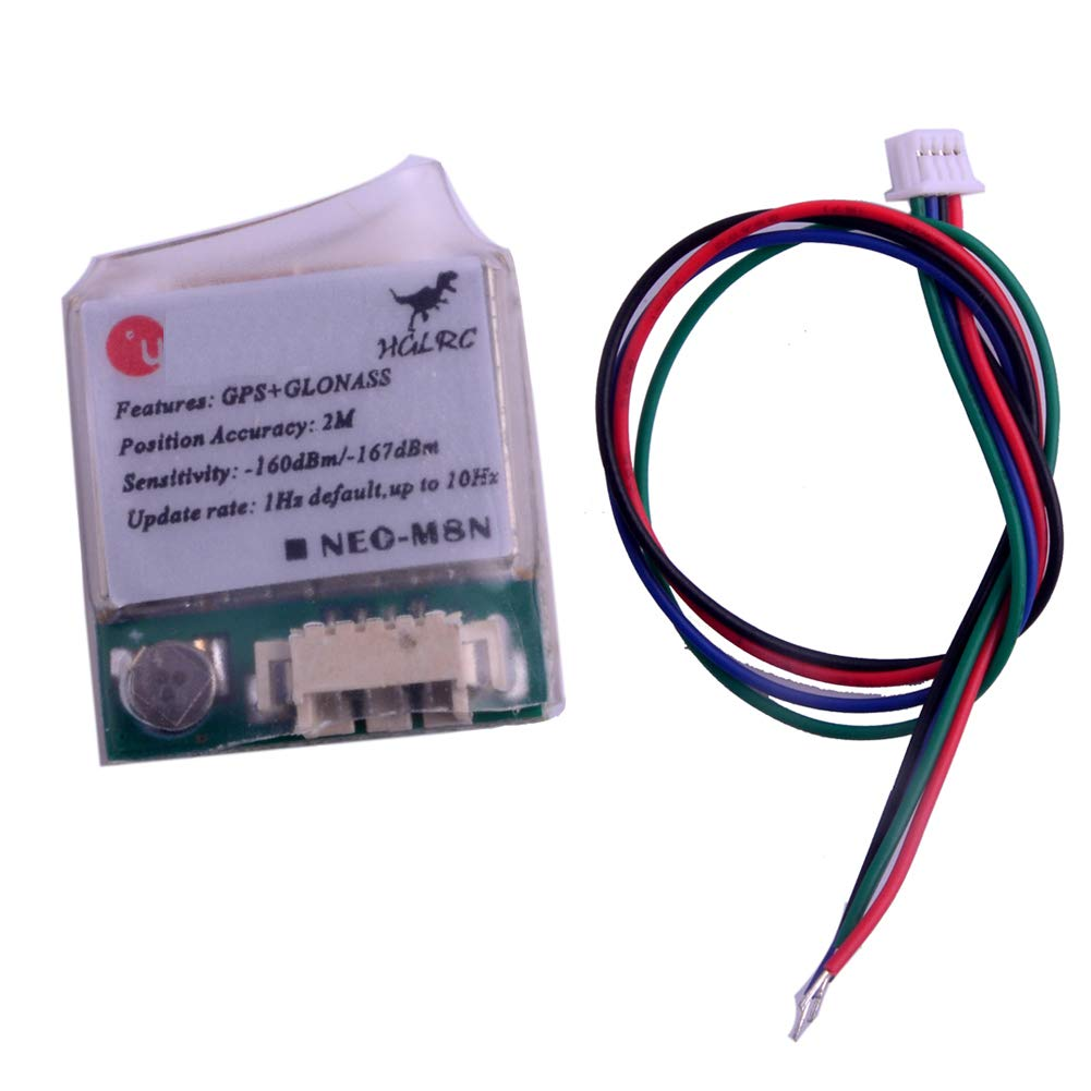 Geekstory U-G8030-KT GPS Receiver Module Compatible with NEO-M8N for Betaflight Flight Control APM Pixhawk CC3D Naze32 Aircraft