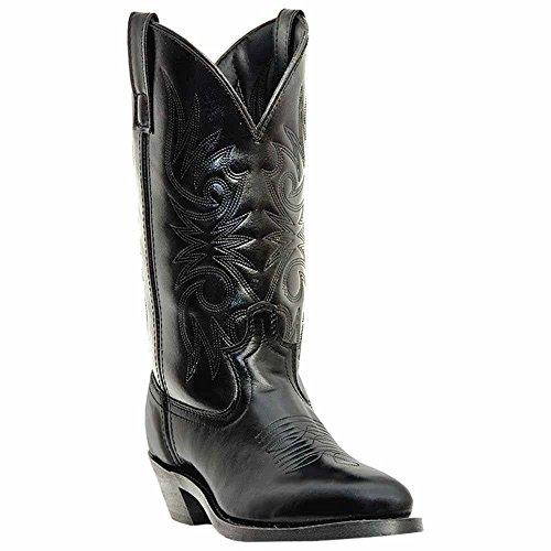 """(Laredo Men's 12"""" Trucker boot,Black,11 D US)"""