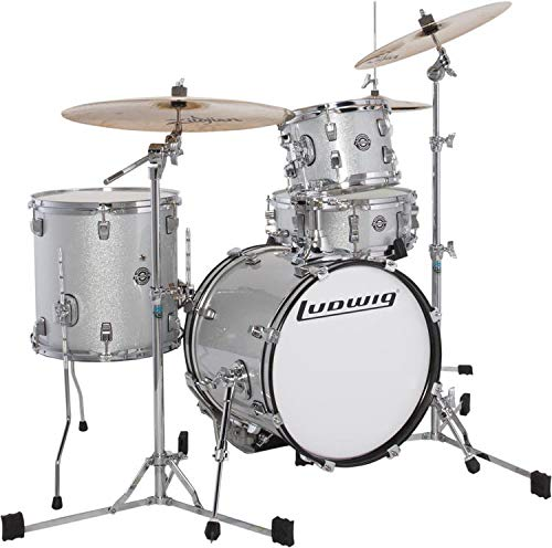 Ludwig Breakbeats By Questlove Shell Pack - White Sparkle