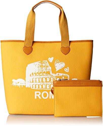 w Golden Donna A Spalla Yellow Milano 15x36x34 H roma Twinset Cm As8pna X st L Giallo Borsa q8wTU
