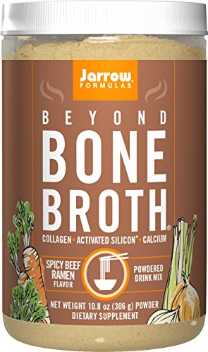 (Jarrow Formulas Beyond Bone Broth with JarroSil Activated Silicon, Spicy Beef Ramen, 10.8 Ounce (306 g) Powder)