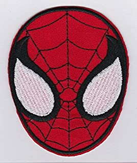 Spider Man Superhero Face Patches W3 X H35