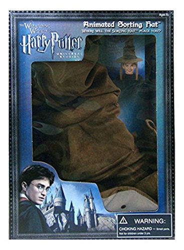 [Universal Studios Wizarding World Harry Potter Animated Sorting Hat New with Box] (Sorting Hat From Harry Potter)