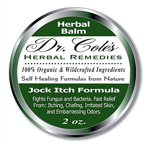 Dr. Cole's Organic Jock Itch Treatment - Anti-Fungal Ointment, Kills Fungus & Ringworm - Relieves Itching & Eliminates Fowl Groin Odor Naturally - Easy to Apply - Safe for The Whole Family