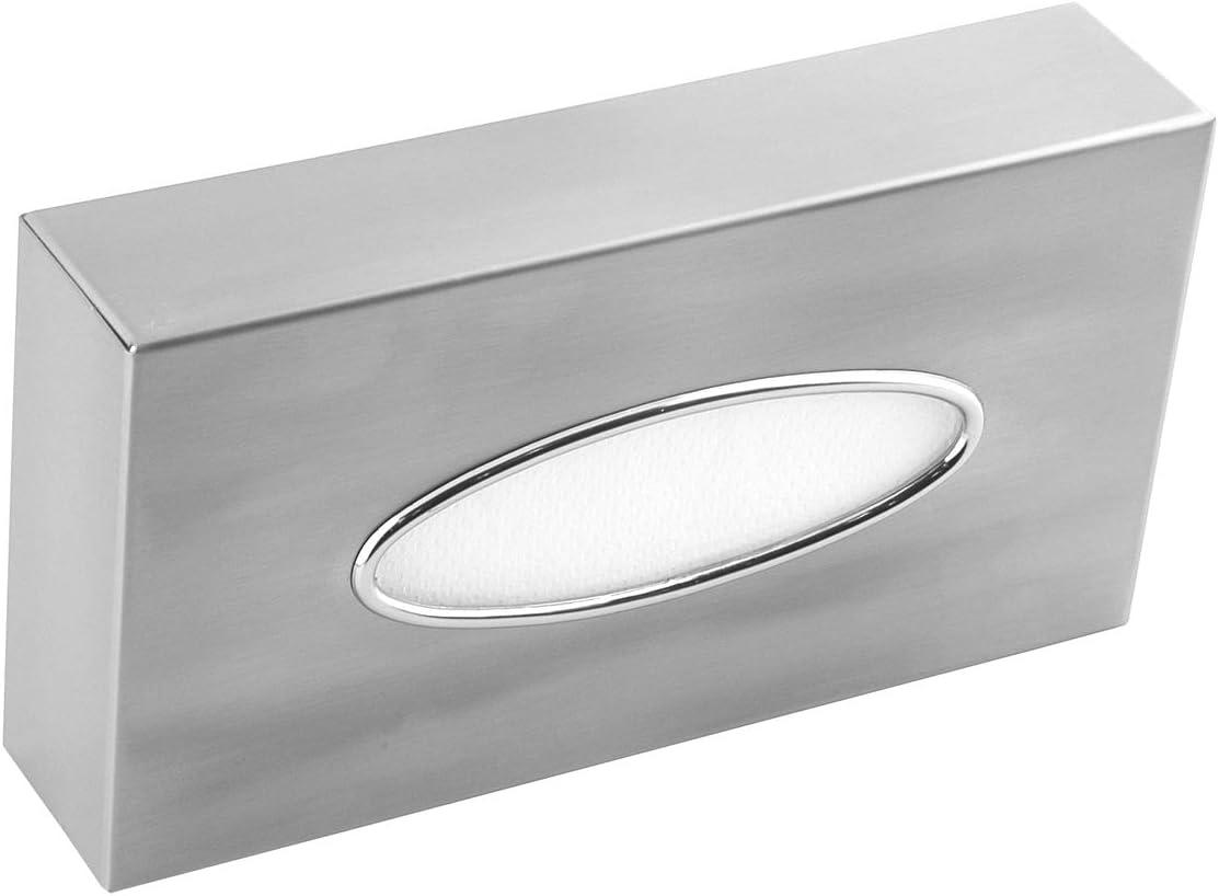 /Mouchoirs cosm/étiques Box acier inoxydable Bo/îte pour mouchoirs en distributeur de table ou mural mediclinics ai0985cs/
