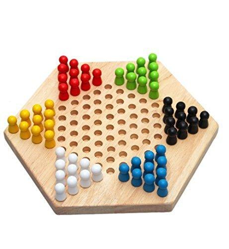 BXT Chinese Checkers /ハルマ木製ゲームセット