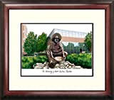 UNC Charlotte Framed Lithograph Print