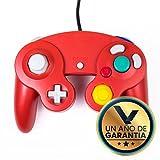 Control Alámbrico para Nintendo Game Cube Rojo