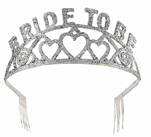 Halloween Bachelorette Party Ideas (Forum Novelties Glitter Tiara (Bride to)