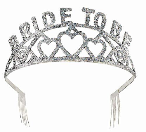Bride To Be Hen Night Costumes - Forum Novelties Glitter Tiara (Bride to