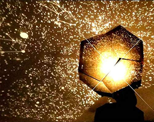 Kacowpper Venta Caliente de Halloween Celestial Star Cosmos Noche lámpara de Noche Luces proyector de proyección Cielo Estrellado